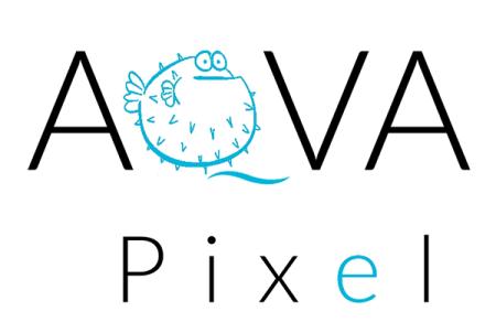 Logo AQVA pixel palla crop